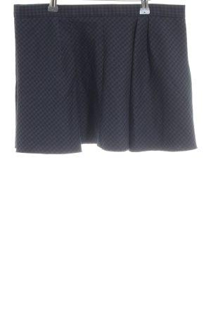 Zara Woman Faltenrock blau-schwarz Karomuster Casual-Look
