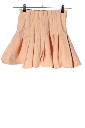 Zara Woman Faltenrock nude Party-Look