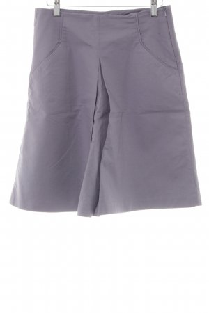 Zara Woman Faltenrock grau Casual-Look