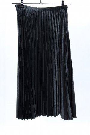 Zara Woman Plaid Skirt black casual look