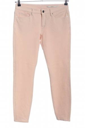 Zara Woman Five-Pocket-Hose pink Casual-Look