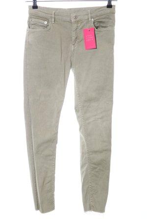 Zara Woman Pantalone cinque tasche cachi stile casual