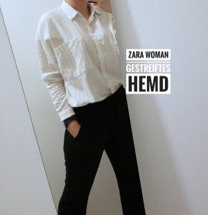 Zara Woman gestreiftes Hemd