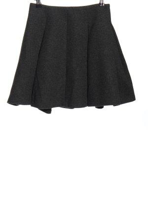 Zara Woman Klokrok zwart gestippeld zakelijke stijl
