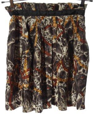 Zara Woman Glockenrock abstraktes Muster Casual-Look
