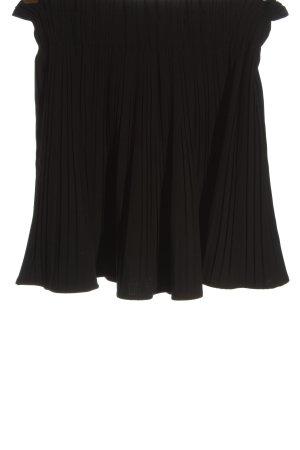 Zara Woman Glockenrock schwarz Elegant