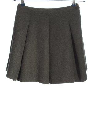 Zara Woman Gonna a campana grigio chiaro puntinato stile professionale