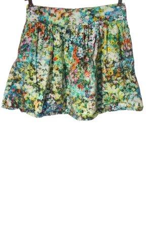 Zara Woman Glockenrock Allover-Druck Casual-Look