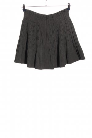 Zara Woman Glockenrock hellgrau Karomuster Casual-Look