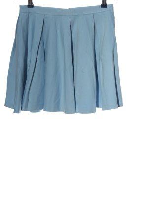Zara Woman Glockenrock blau Casual-Look
