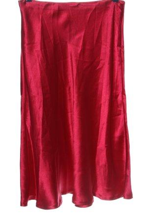 Zara Woman Gonna a campana rosa elegante