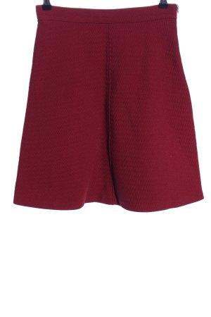 Zara Woman Klokrok rood volledige print casual uitstraling