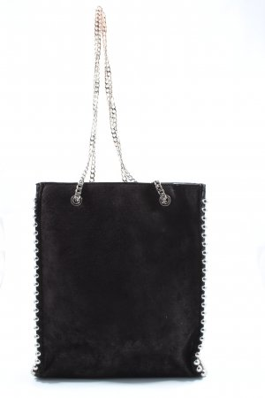 Zara Woman Handtasche schwarz Casual-Look