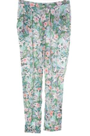 Zara Woman Haremshose Blumenmuster extravaganter Stil