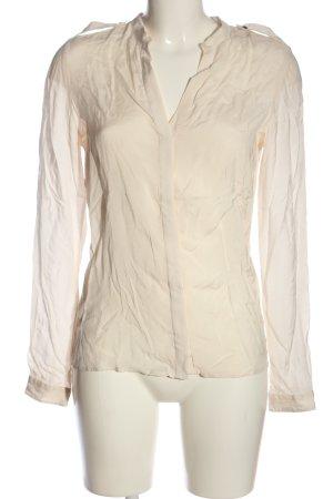 Zara Woman Hemd-Bluse creme Casual-Look