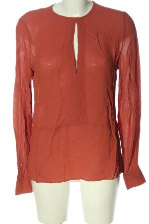 Zara Woman Hemd-Bluse rot Casual-Look