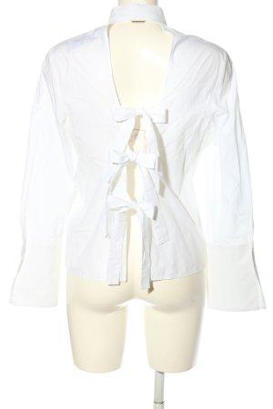 Zara Woman Hemd-Bluse weiß Casual-Look