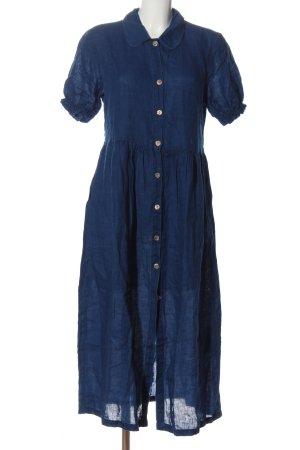 Zara Woman Shirtwaist dress blue casual look