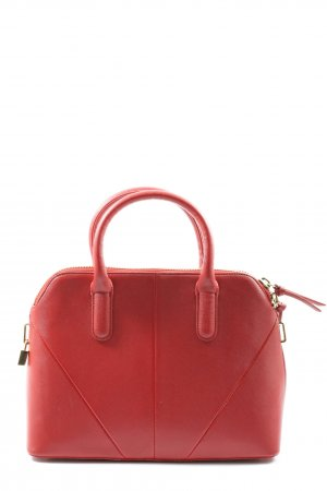 Zara Woman Henkeltasche rot Business-Look