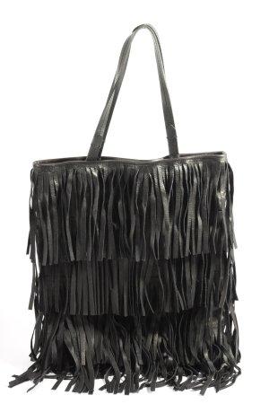 Zara Woman Henkeltasche schwarz Casual-Look