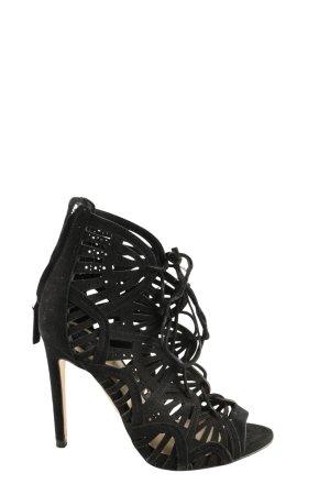 Zara Woman High Heel Sandaletten schwarz Elegant