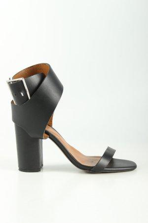 Zara Woman High Heel Sandaletten schwarz Business-Look
