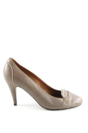 Zara Woman High Heels wollweiß Casual-Look