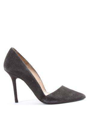 Zara Woman High Heels braun Business-Look
