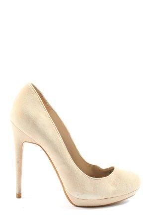 Zara Woman High Heels creme Casual-Look