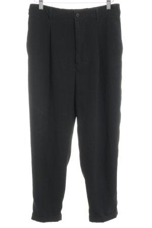 Zara Woman High-Waist Hose schwarz Business-Look