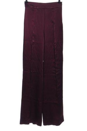 Zara Woman High-Waist Hose rot Business-Look