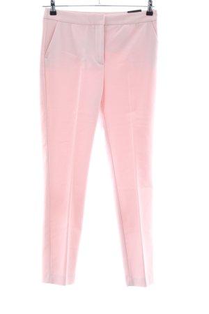 Zara Woman High-Waist Hose pink Business-Look