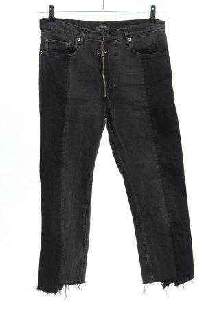 Zara Woman High Waist Jeans hellgrau Casual-Look