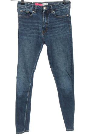 Zara Woman High Waist Jeans blau Casual-Look