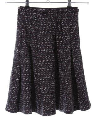 Zara Woman High Waist Rock Allover-Druck Casual-Look