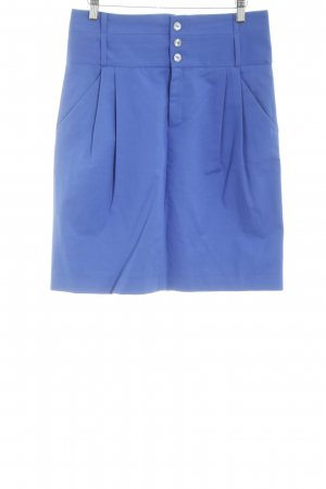 Zara Woman High Waist Rock blau Casual-Look