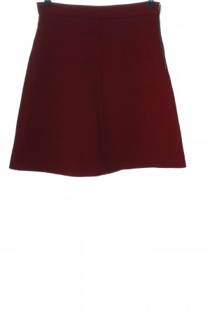 Zara Woman High Waist Rock rot Casual-Look