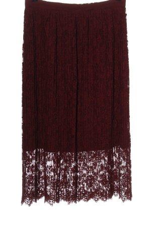 Zara Woman High Waist Rock rot Webmuster Elegant