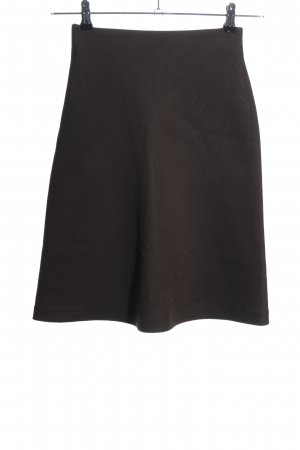 Zara Woman High Waist Skirt brown casual look