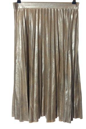 Zara Woman High Waist Rock braun Elegant