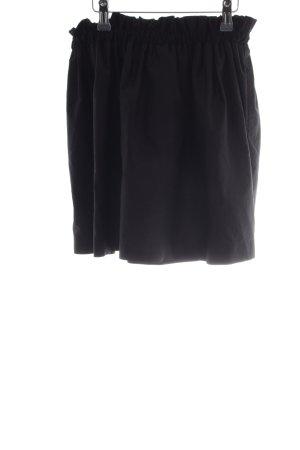 Zara Woman High Waist Rock schwarz Casual-Look