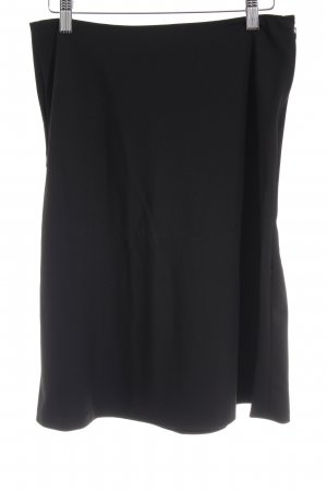 Zara Woman High Waist Rock schwarz Elegant