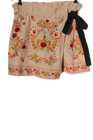 Zara Woman High-Waist-Shorts mehrfarbig Casual-Look