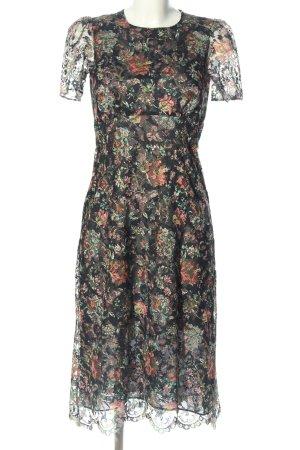 Zara Woman Hippiekleid Blumenmuster Elegant
