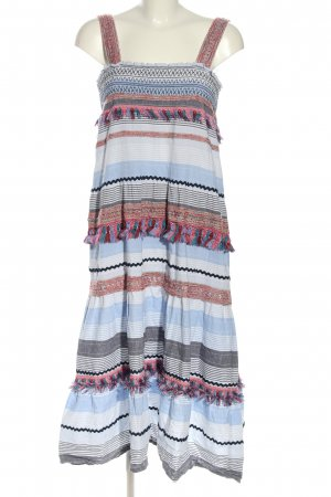 Zara Woman Hippie Dress striped pattern casual look