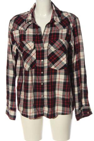 Zara Woman Holzfällerhemd Karomuster Casual-Look
