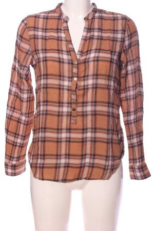 Zara Woman Koszula w kratę Wzór w kratkę W stylu casual