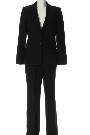Zara Woman Garnitur damski czarny W stylu biznesowym