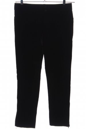 Zara Woman Low-Rise Trousers black business style