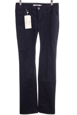 Zara Woman Low Rise jeans donkerblauw Jeans-look